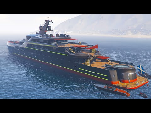 DRUNK ON A YACHT IN GTA 5!  (GTA 5 Funny Moments)