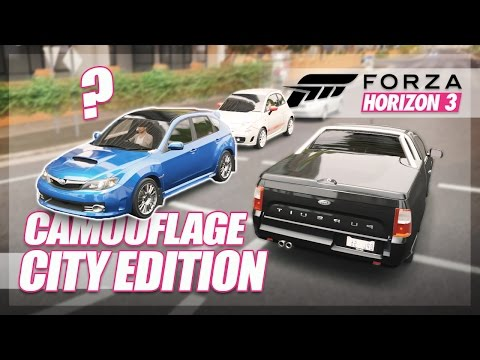 Forza Horizon 3 - Camouflage City Edition! w/AR12Gaming