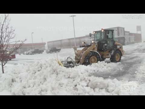 11-18-16 Alexandria, Minnesota Blizzard Creates Hazardous Travel