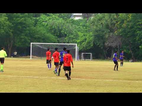 52nd Inter IIT Sports Meet  Football Khargapur vs Madras SEMIS PART -1