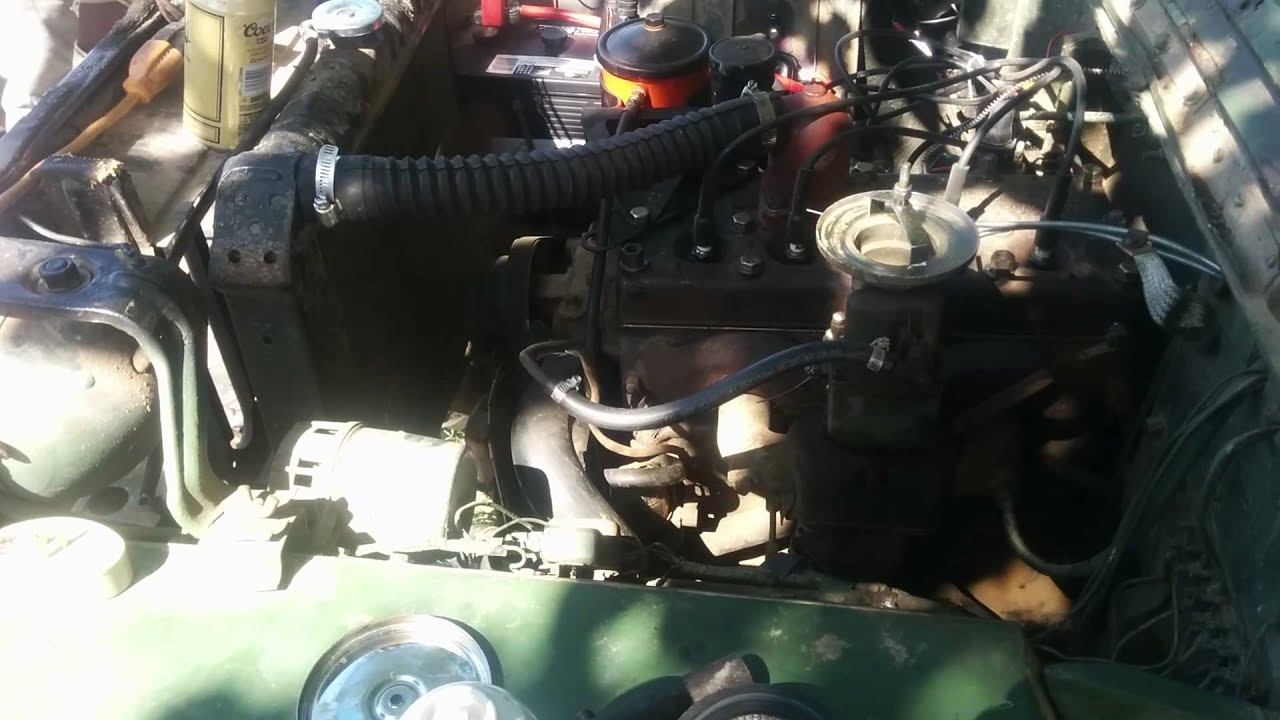 1943 Willys Jeep Timing Fixed Youtube Ignition Circuit Diagram For The 1940 54 4 Cylinder