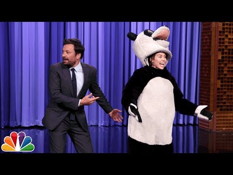 Thumbnail: Miley Cyrus Takes over The Tonight Show Cold Open and Hashtag the Panda