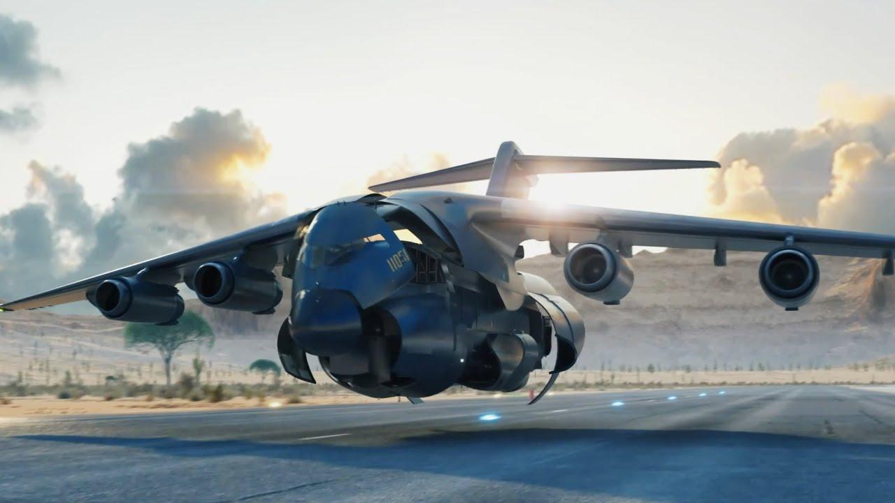 transport plane Transformers! 运输机变形金刚!