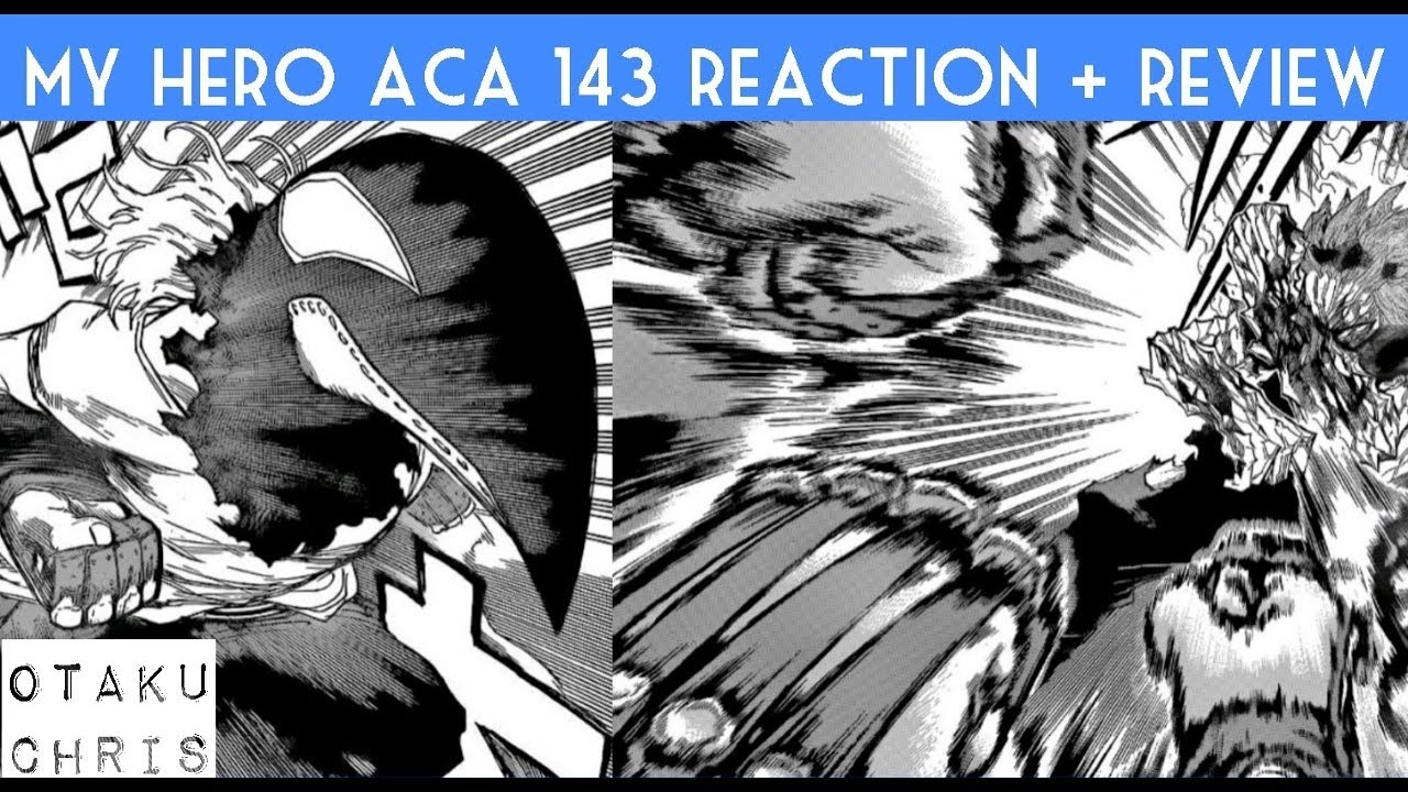 Boku no hero academia review brutal gamer - Boku No Hero Academia Chp 143 Review