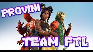 🔴 Fortnite LIVE ITA Battle Royale PROVINI FOR THE FTL TEAM! Who's going to pass!?