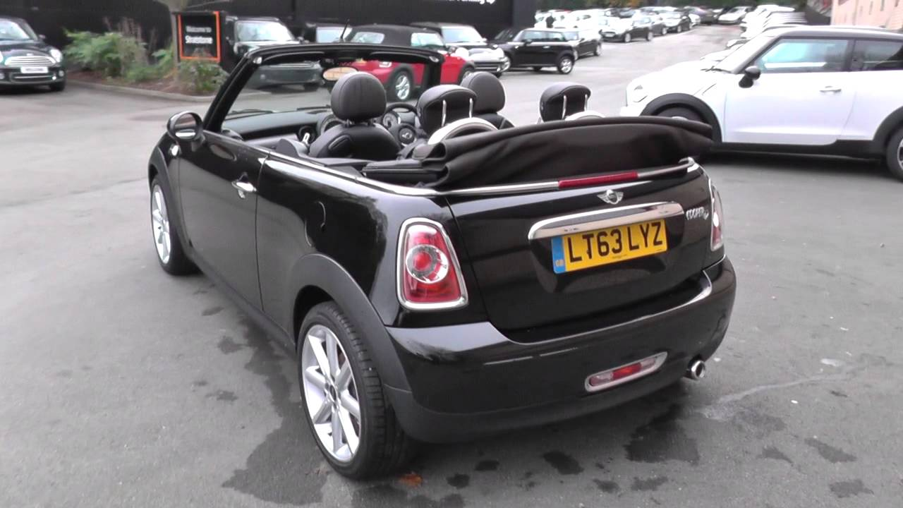 Mini Convertible 16 Cooper D Highgate 2dr Media Pack U3939 Youtube