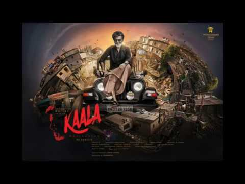 kaala Offical theme# rajani #  pa.ranjith #theme released with mass dialogue