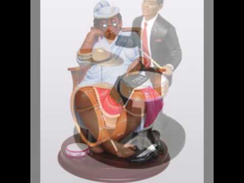 African American Fugurines & Statues-African Figurines & Collectibles