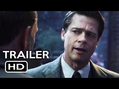 Stream for Allied Official Trailer #1 (2016) Brad Pitt, Marion Cotillard Action Drama Movie HD