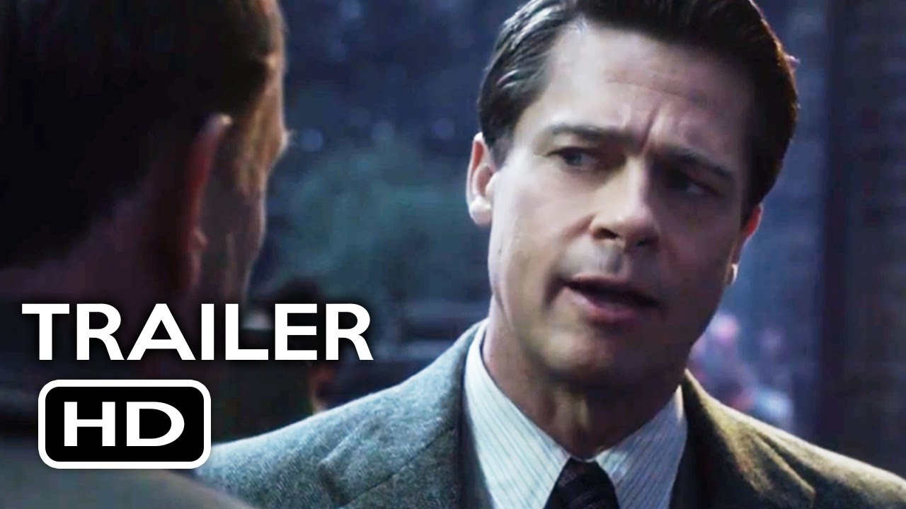 Allied Official Trailer 1 2016 Brad Pitt Marion Cotillard