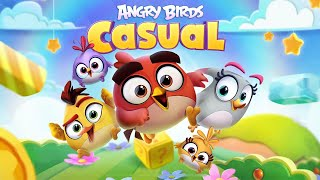 Angry Birds Casual Walkthough Level 1-10 (iOS Android Gameplay)