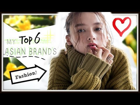 My TOP 6 Asian Fashion Brands -  & How To Buy
