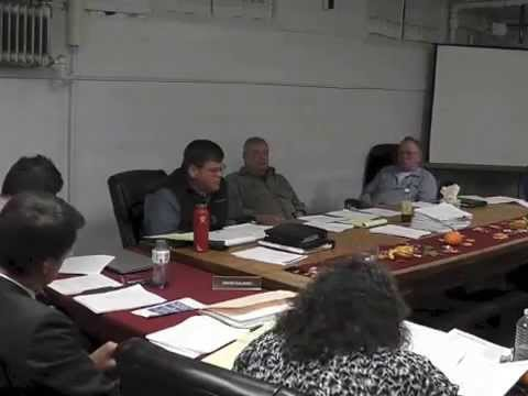 Ticonderoga Town Board Meeting  11-12-15