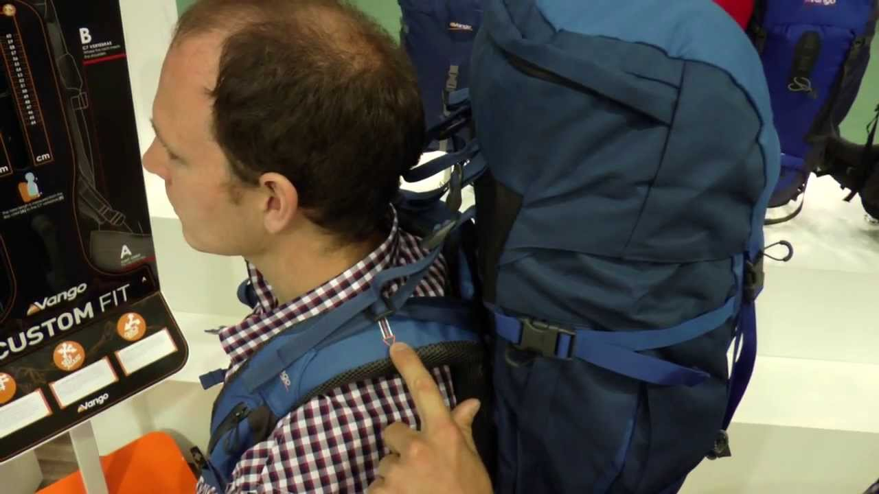 How to fit a rucksack - Vango