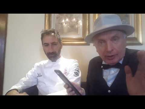 Elio Crociani intervista su RMTV & Periscope Maurizio Bufi * Chef Villa Giulia Gargnano (Bs)