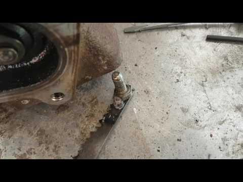 How to fix turbo wastegate on honda aquatrax jetski f12x r12x etc