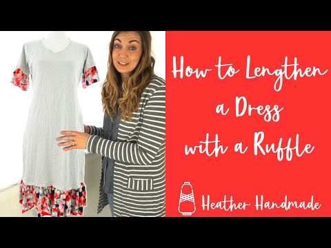 how-to-lengthen-a-dress-with-a-ruffle