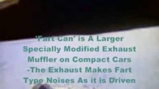 Moon Hoax Apollo 16 : Lunar Rover Engine Muffler Noise is Heard in The Nevada Fake Moon Bay