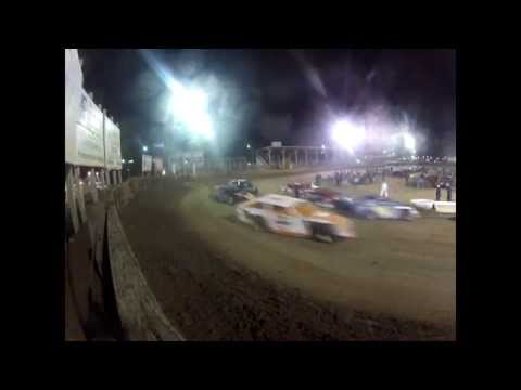 "Belle Clair Speedway Modified ""A"" Feature 3-28-14"