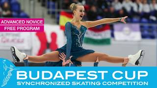 Budapest Cup 2019 - ISU Advanced Novice
