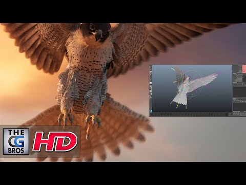 "CGI & VFX Showreels: ""Bilal Falcon Rig"" - by Barajoun Animation Studio"
