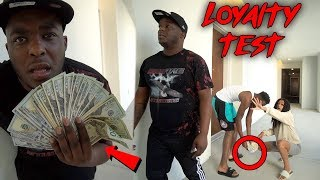 Download DROPPING $1000 IN CASH IN FRONT OF MY FRIENDS * Part 2 * | Loyalty Test Mp3 and Videos
