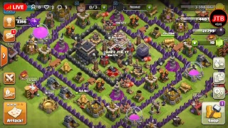 clash of clans| live | road to 50 subs (Clash of clans) (ep1)