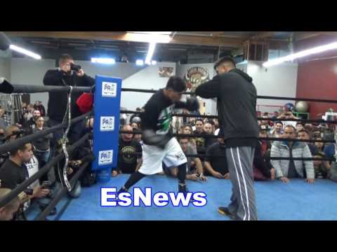 boxing star mikey garcia ready for his title fight EsNews Boxing