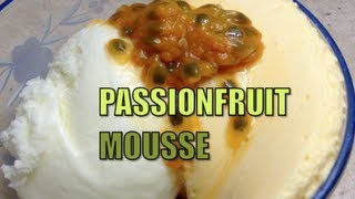 Passionfruit Mousse Video Recipe Cheekyricho