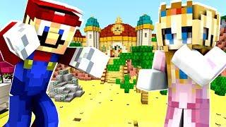 Mario Minecraft - Mario CAUGHT Spying On Princess Peach! [32]