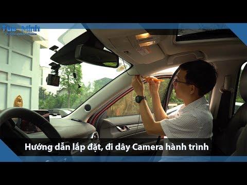 Hướng Dẫn Lắp đặt, đi Dây Cho Camera Hành Trình Trên ô Tô