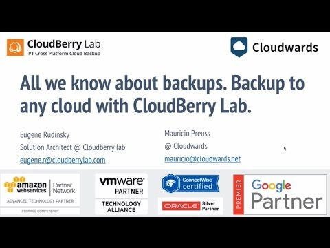 How to use any cloud storage to backup your data [WEBINAR REPLAY]