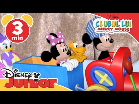Clubul lui Mickey Mouse - Deszăpezirea. Doar la Disney Junior!
