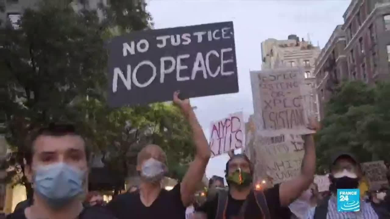 Mort de George Floyd : de Minneapolis à Washington, les manifestations continuent aux États-Unis