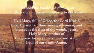 Video Catholic Prayers - Angelus, English download MP3, 3GP, MP4, WEBM, AVI, FLV Agustus 2017