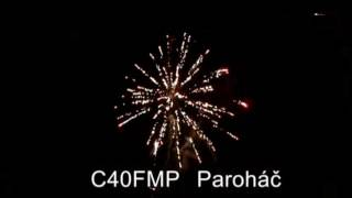 Ekopyro - C40FMP - Paroháč 40 rán / multikaliber + fontána