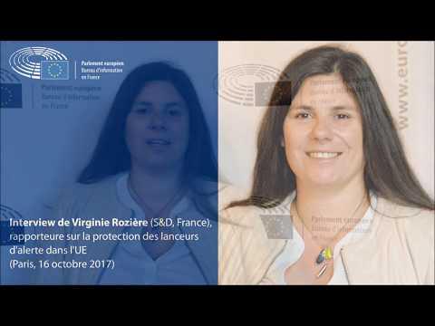 Interview de Viriginie Rozière (S&D), rapporteure sur la protection des lanceurs d'alerte