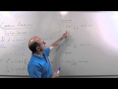 Complex Analysis 10: Taylor Series
