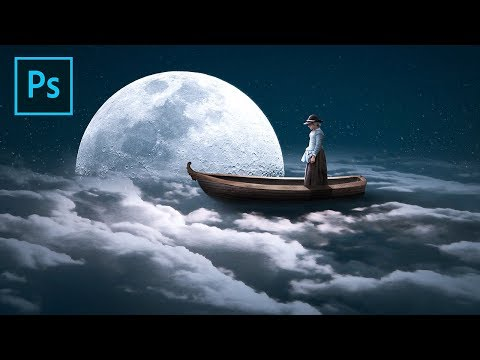 Sail Above the Clouds - Fantasy Editing Photoshop Manipulation Tutorial thumbnail