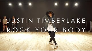 Justin Timberlake - Rock Your Body (LIVE) | @mikeperezmedia Choreography