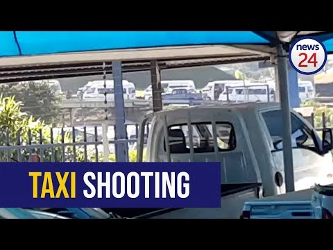 WATCH: Pietermaritzburg taxi shooting caught on camera