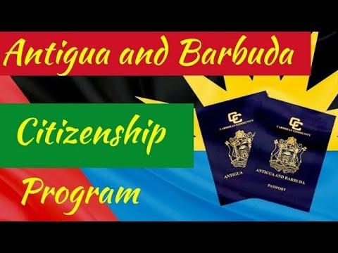 Antigua and Barbuda Cityzenship Program Immigration.