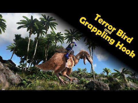 ARK: Survival Evolved - Grappling Hook and Terror Bird [new update! v235]