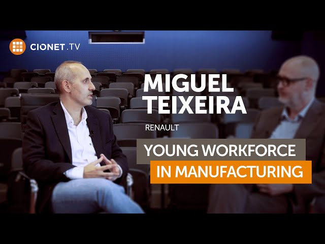Miguel Teixeira, Renault – Changing for the young workforce