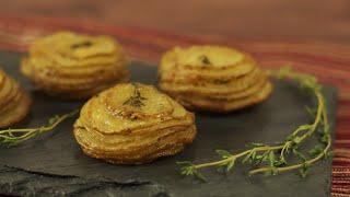 Crispy Potato and Parmesan Stacks  Hungry AF