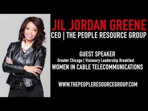Jil Jordan Greene: Guest Speaker   (WITC) Women in Cable Telecommunications/ Greater Chicago