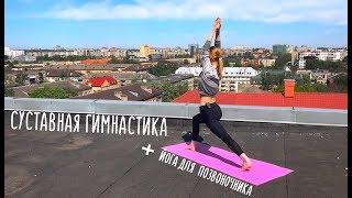 Суставная гимнастика + Йога для позвоночника