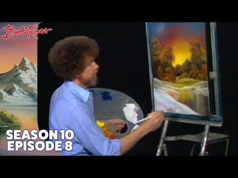 Bob Ross - Golden Sunset (Season 10 Episode 8)