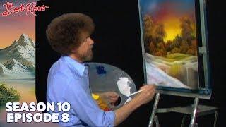 Bob Ross - Golden Sunset (Season 10 Episode 8)