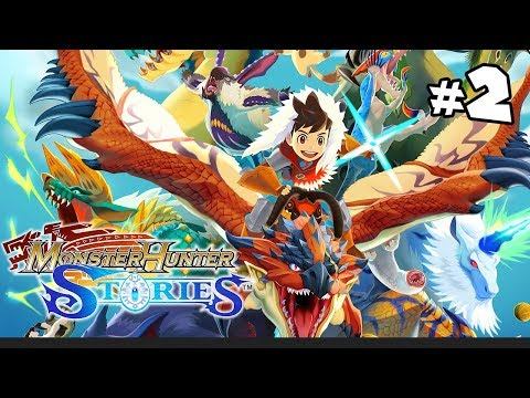 Hunter & Edgelord Sonic Goes on a Fantastical Journey | Monster Hunter Stories - Part 2 -